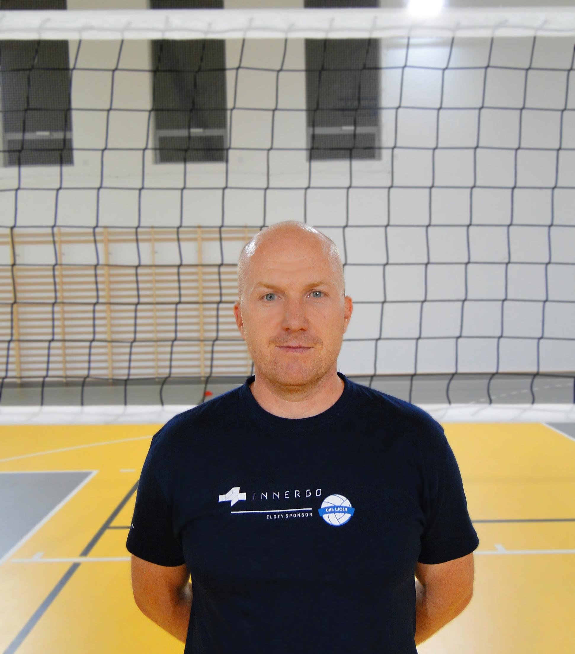 Trener Paweł Czyż