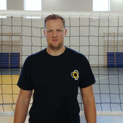 Trener Mateusz Śrutowski