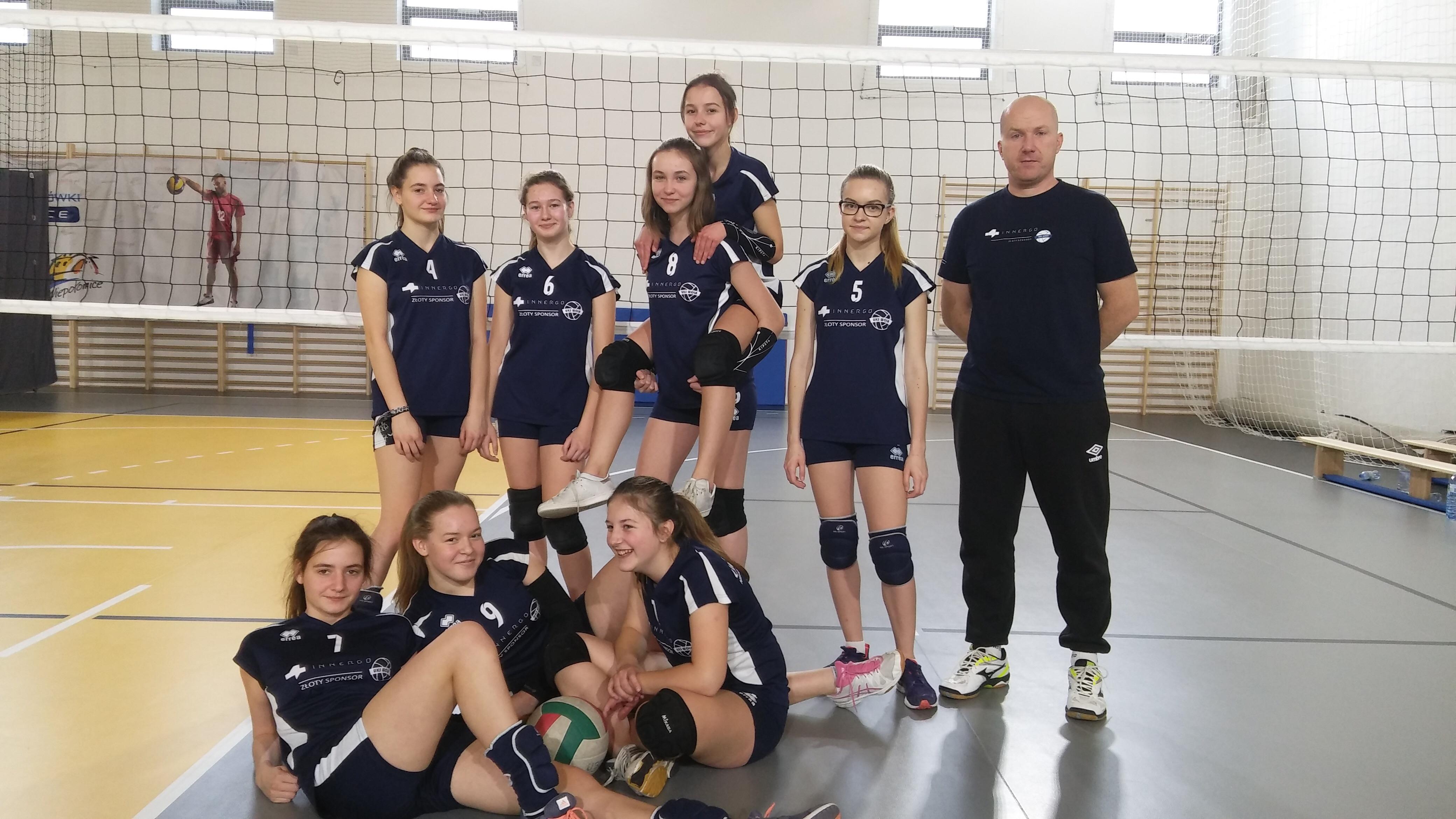 Byliśmy organizatorami równocześnie II Turnieju Ligowego Młodziczek i Młodzików
