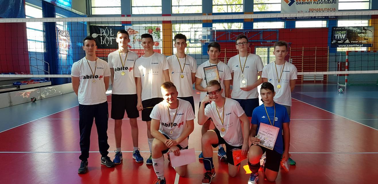 I Wiosenny Turniej Piłki Siatkowej Kadetek i Kadetów w Krakowie