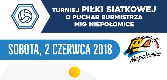 Turniej o Puchar Burmistrza MiG Niepołomice
