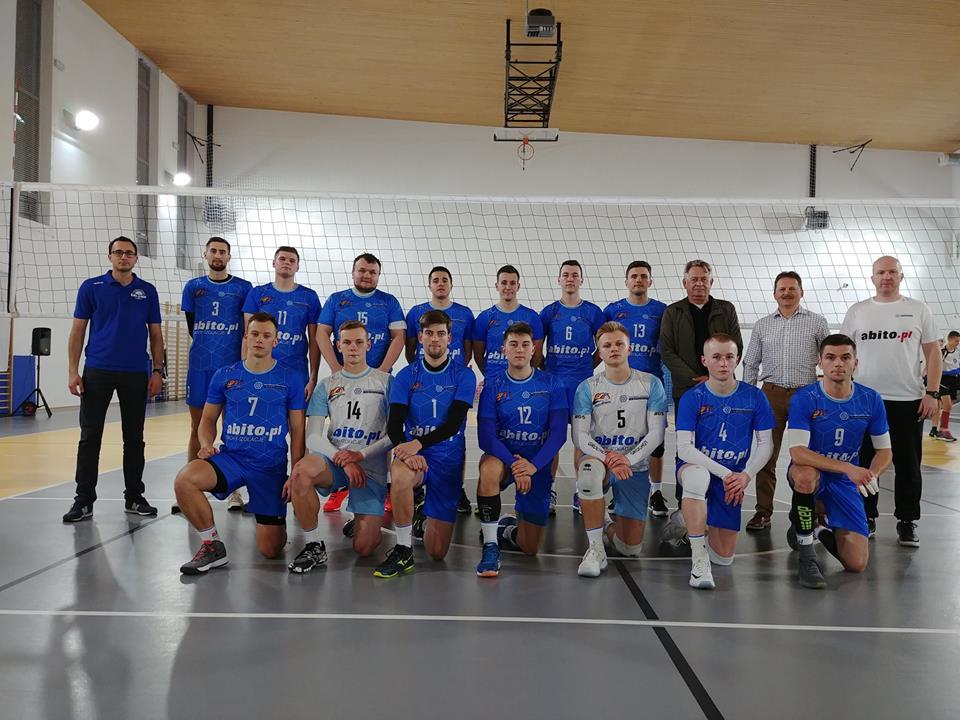 Pierwszy mecz rundy rewanżowej I Ligi Małopolskiej mężczyzn.