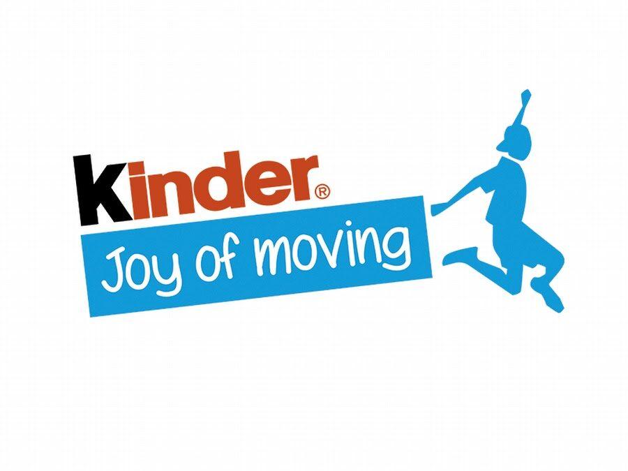 Rozgrywki mini siatkówki Kinder Joy of Moving